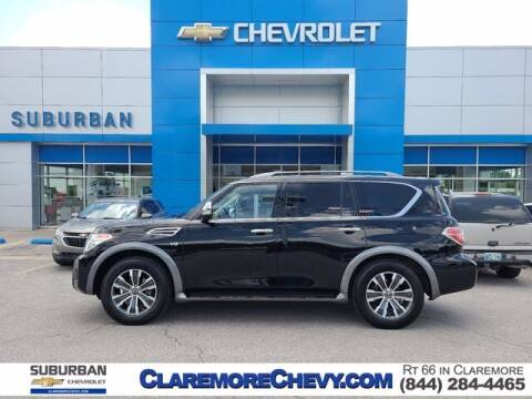 2020 Nissan Armada for sale at Suburban Chevrolet in Claremore OK