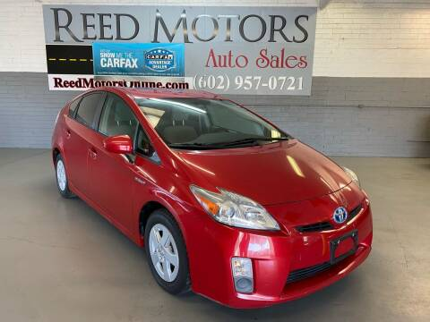 2011 Toyota Prius for sale at REED MOTORS LLC in Phoenix AZ