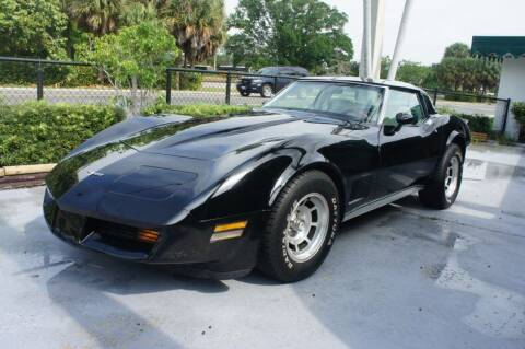 1980 Chevrolet Corvette for sale at Dream Machines USA in Lantana FL