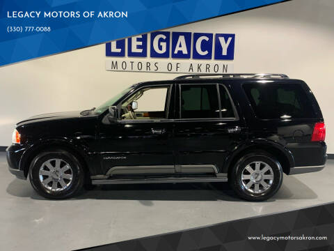 2004 Lincoln Navigator for sale at LEGACY MOTORS OF AKRON in Akron OH