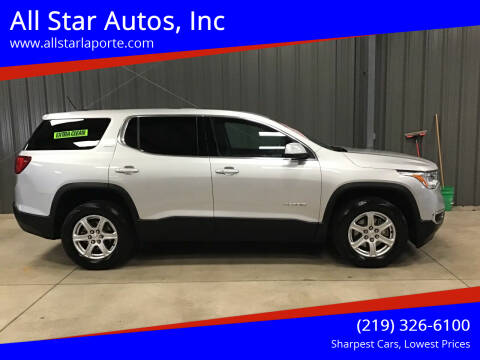 2017 GMC Acadia for sale at All Star Autos, Inc in La Porte IN
