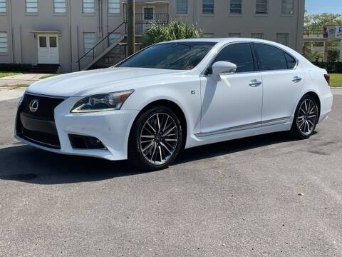 2013 Lexus LS 460 for sale at LUXURY AUTO MALL in Tampa FL