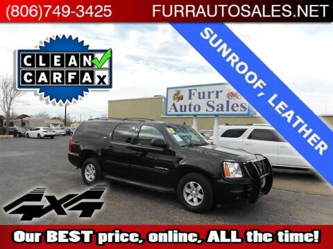 2013 GMC Yukon XL for sale at FURR AUTO SALES in Lubbock TX