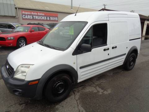 2012 Ford Transit Connect for sale at Aspen Auto Sales in Wayne MI