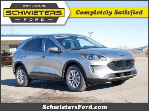 2021 Ford Escape for sale at Schwieters Ford of Montevideo in Montevideo MN