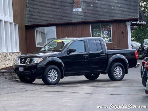 2016 Nissan Frontier for sale at Cupples Car Company in Belmont NH
