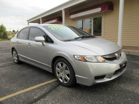 2010 Honda Civic for sale at Fox River Motors, Inc in Green Bay WI