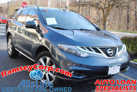 2014 Nissan Murano for sale at Ramsey Corp. in West Milford NJ