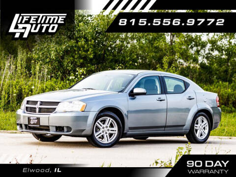 2010 Dodge Avenger for sale at Lifetime Auto in Elwood IL