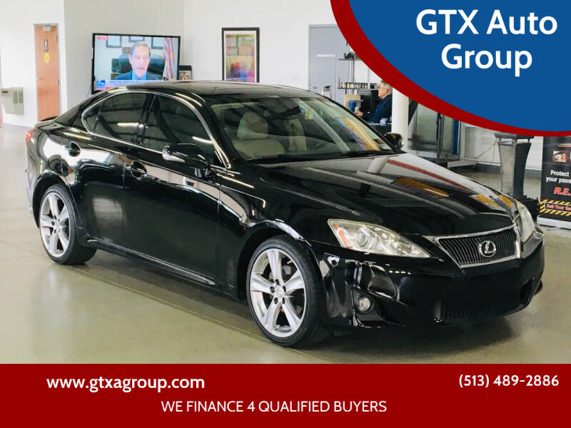 2013 Lexus IS 250 for sale at GTX Auto Group in West Chester OH