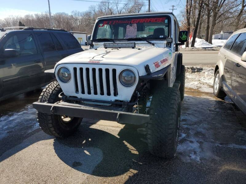 2003 Jeep Wrangler for sale at ASAP AUTO SALES in Muskegon MI