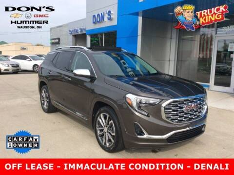 2019 GMC Terrain for sale at DON'S CHEVY, BUICK-GMC & CADILLAC in Wauseon OH