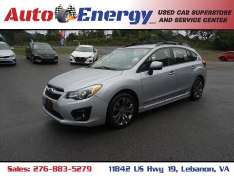 2013 Subaru Impreza for sale at Auto Energy in Lebanon VA