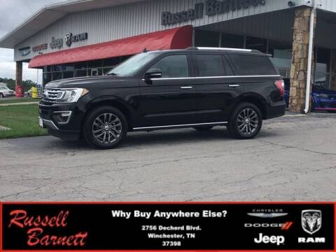 2019 Ford Expedition for sale at Russell Barnett Chrysler Dodge Jeep Ram in Winchester TN