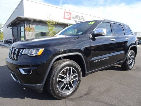 2018 Jeep Grand Cherokee for sale at Wholesale Direct in Wilmington NC