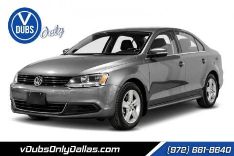 2014 Volkswagen Jetta for sale at VDUBS ONLY in Dallas TX