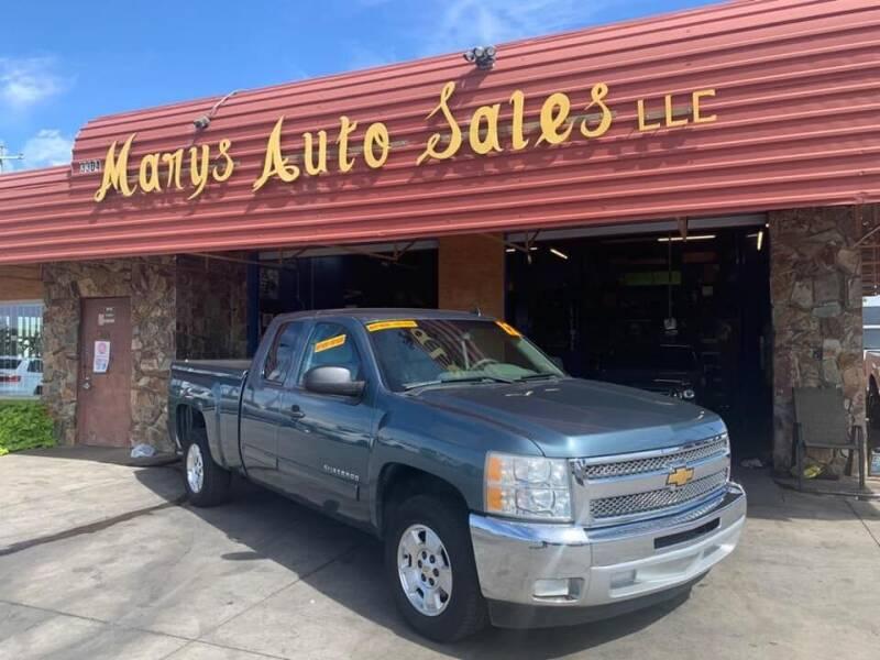 2012 Chevrolet Silverado 1500 for sale at Marys Auto Sales in Phoenix AZ