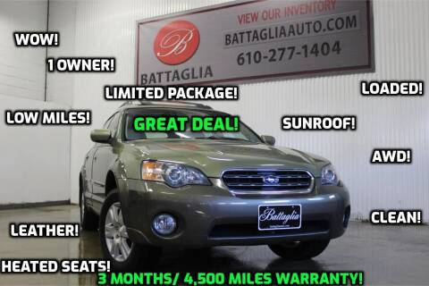 2005 Subaru Outback for sale at Battaglia Auto Sales in Plymouth Meeting PA