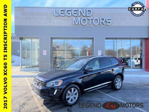 2017 Volvo XC60 for sale at Legend Motors of Detroit - Legend Motors of Waterford in Waterford MI