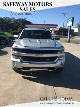 2016 Chevrolet Silverado 1500 for sale at Safeway Motors Sales in Laurinburg NC