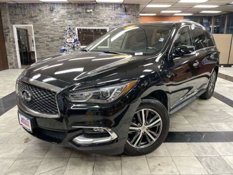 2017 Infiniti QX60 for sale at Sonias Auto Sales in Worcester MA