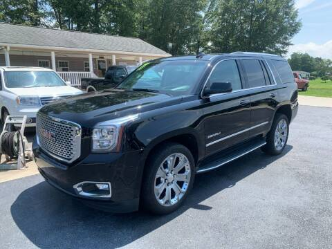 2017 GMC Yukon for sale at Getsinger's Used Cars in Anderson SC