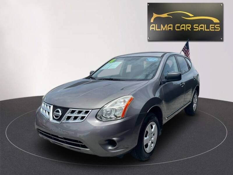 2011 Nissan Rogue for sale at Alma Car Sales in Miami FL