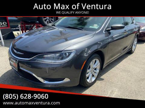 2015 Chrysler 200 for sale at Auto Max of Ventura in Ventura CA