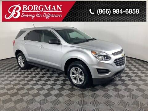 2017 Chevrolet Equinox for sale at BORGMAN OF HOLLAND LLC in Holland MI