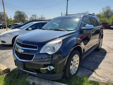2010 Chevrolet Equinox for sale at John - Glenn Auto Sales INC in Plain City OH