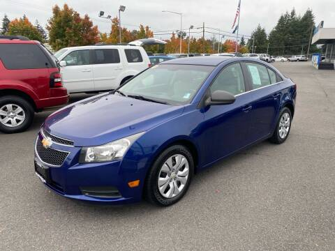 2012 Chevrolet Cruze for sale at Vista Auto Sales in Lakewood WA