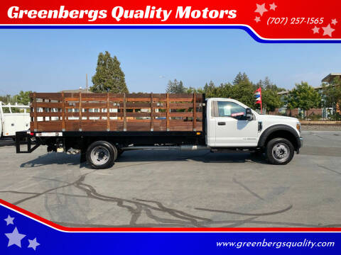 2018 Ford F-550 Super Duty for sale at Greenbergs Quality Motors in Napa CA