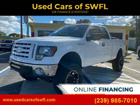 2011 Ford F-150 for sale at Used Cars of SWFL in Fort Myers FL
