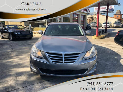 2012 Hyundai Genesis for sale at Cars Plus in Sarasota FL