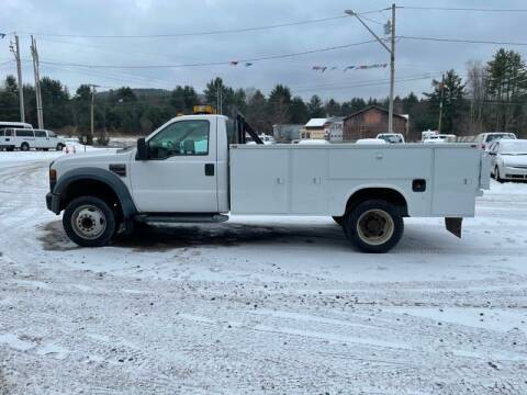 2008 Ford F-450 Super Duty for sale at Upstate Auto Sales Inc. in Pittstown NY
