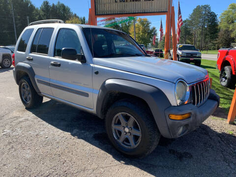 2003 Jeep Liberty for sale at CARS R US in Caro MI