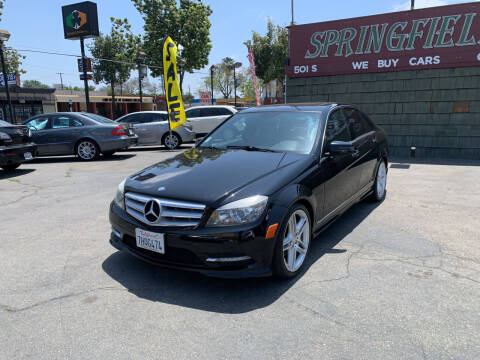 2011 Mercedes-Benz C-Class for sale at SPRINGFIELD BROTHERS LLC in Fullerton CA