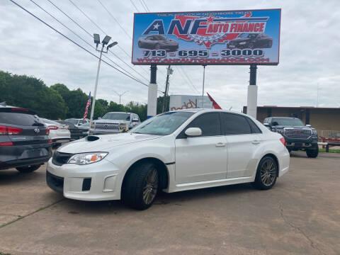 2013 Subaru Impreza for sale at ANF AUTO FINANCE in Houston TX