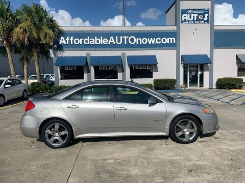 2008 Pontiac G6 for sale at Affordable Autos in Houma LA