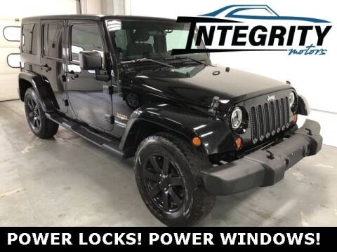 2012 Jeep Wrangler Unlimited for sale at Integrity Motors, Inc. in Fond Du Lac WI
