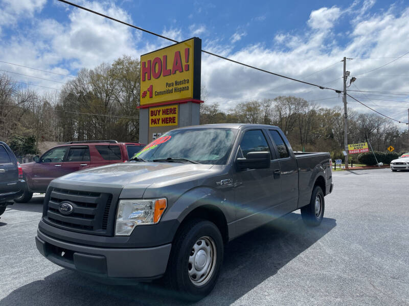 2012 Ford F-150 for sale at No Full Coverage Auto Sales in Austell GA