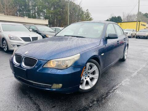 2008 BMW 5 Series for sale at North Georgia Auto Brokers in Snellville GA