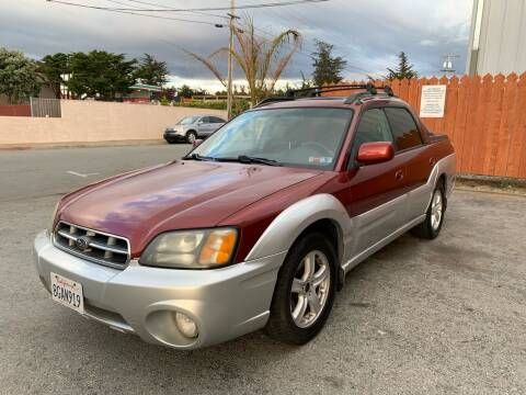 2003 Subaru Baja for sale at Dodi Auto Sales in Monterey CA
