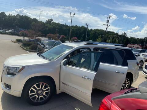 2015 GMC Acadia for sale at A & K Auto Sales in Mauldin SC