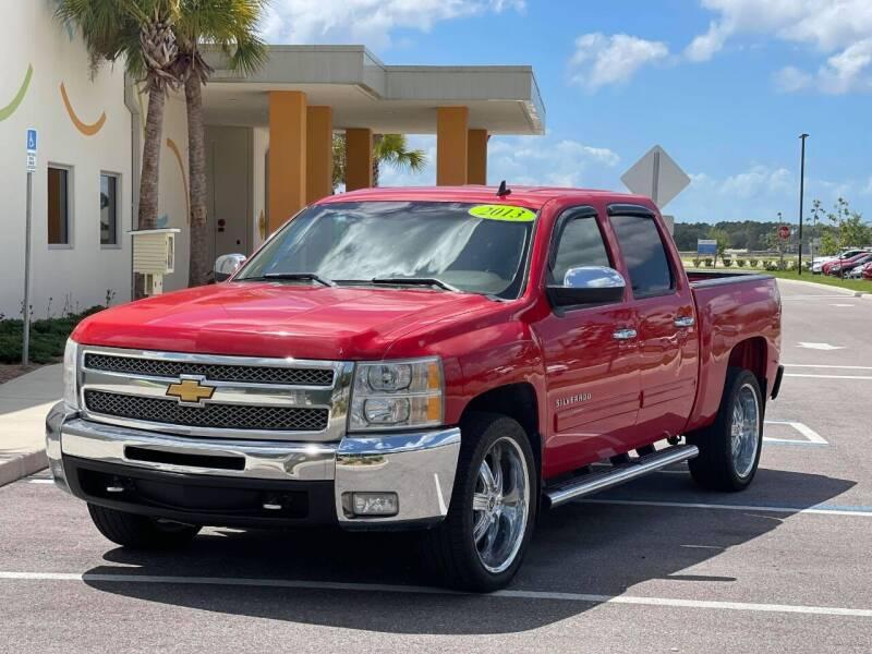 2013 Chevrolet Silverado 1500 for sale at GENESIS AUTO SALES in Port Charlotte FL