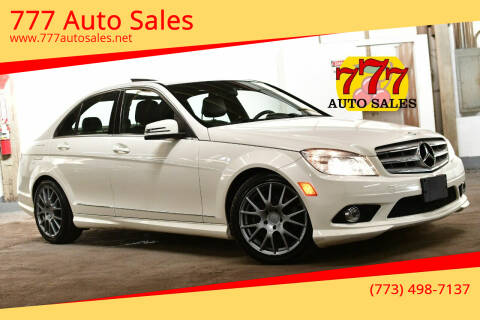 2010 Mercedes-Benz C-Class for sale at 777 Auto Sales in Bedford Park IL