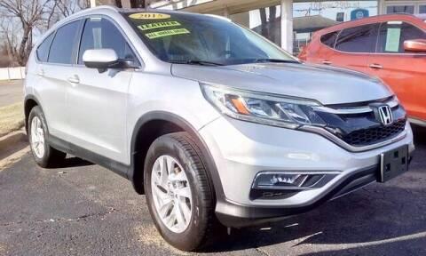 2015 Honda CR-V for sale at Jim Clark Auto World in Topeka KS