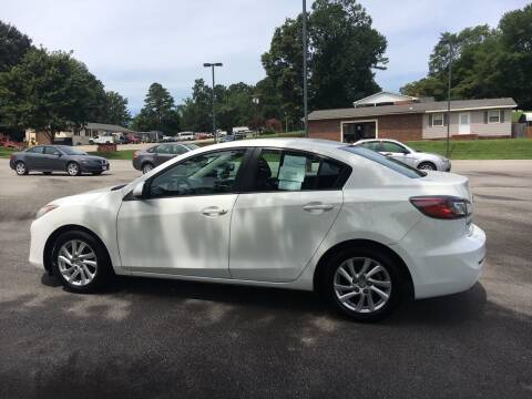 2012 Mazda MAZDA3 for sale at O'Quinns Auto Sales, Inc in Fuquay Varina NC