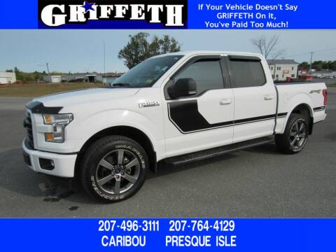 2017 Ford F-150 for sale at Griffeth Mitsubishi - Pre-owned in Caribou ME