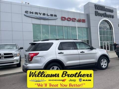 2012 Ford Explorer for sale at Williams Brothers - Pre-Owned Monroe in Monroe MI